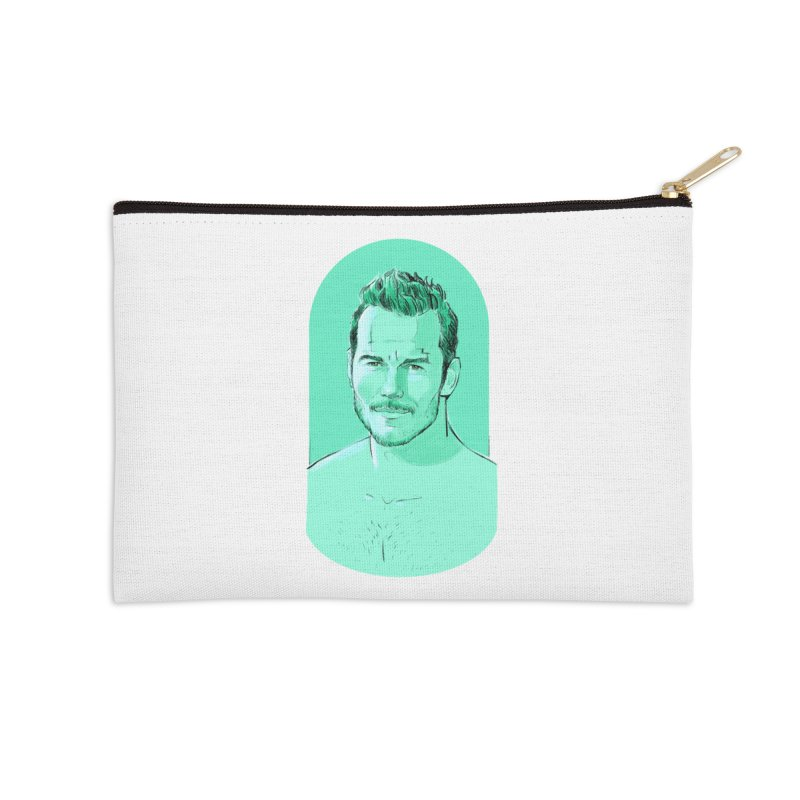 Cheeky Chris Accessories Zip Pouch by Ego Rodriguez