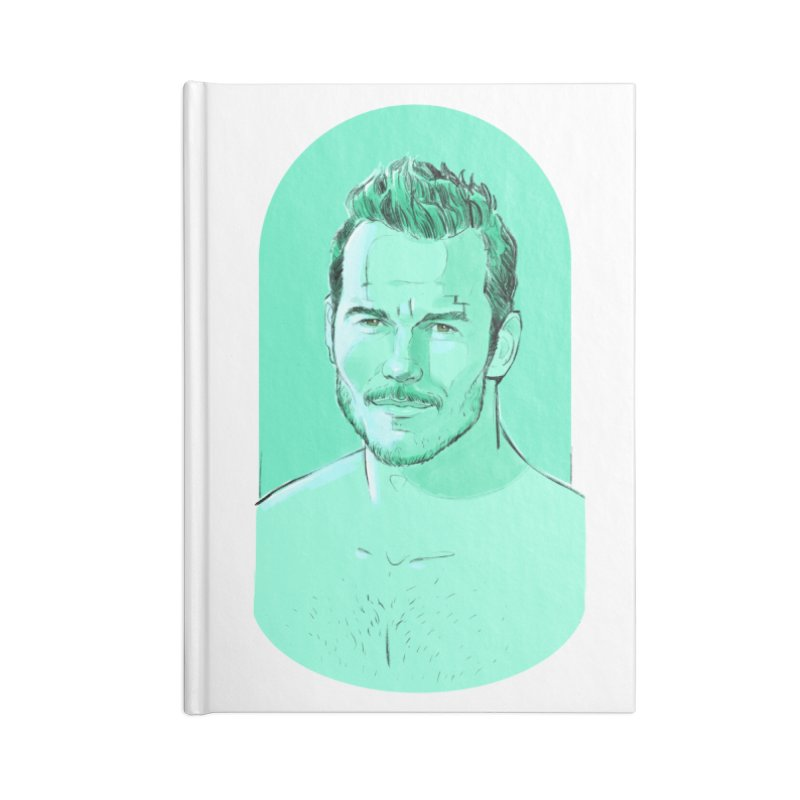 Cheeky Chris Accessories Notebook by Ego Rodriguez