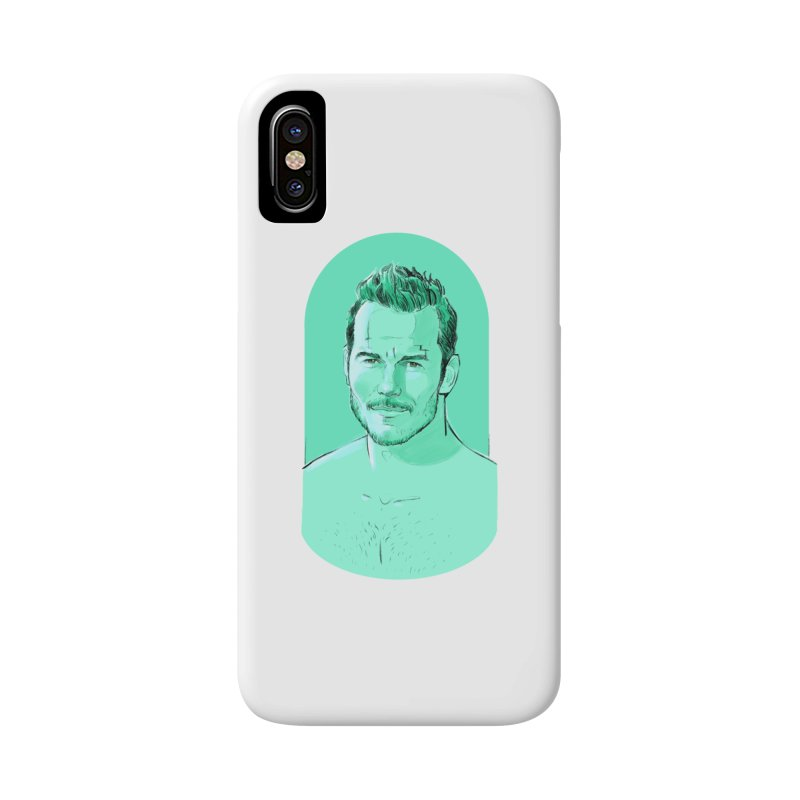 Cheeky Chris Accessories Phone Case by Ego Rodriguez