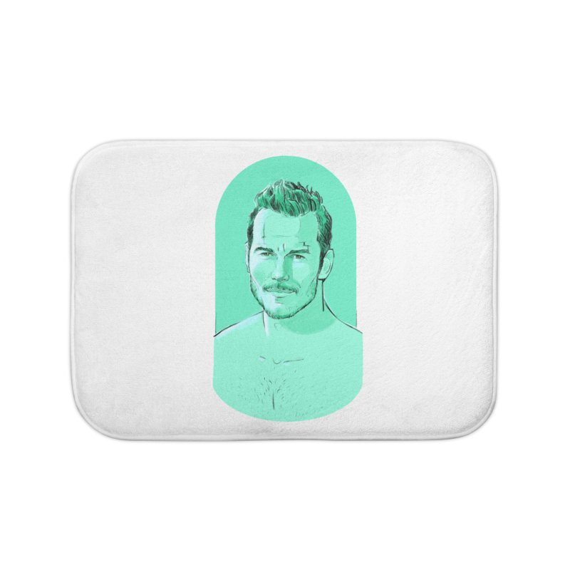 Cheeky Chris Home Bath Mat by Ego Rodriguez