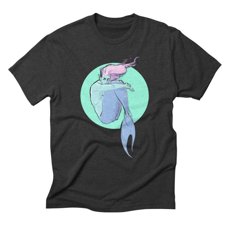 Bubble Men's Triblend T-Shirt by Ego Rodriguez