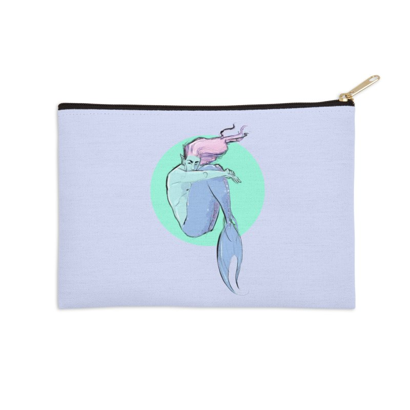 Bubble Accessories Zip Pouch by Ego Rodriguez