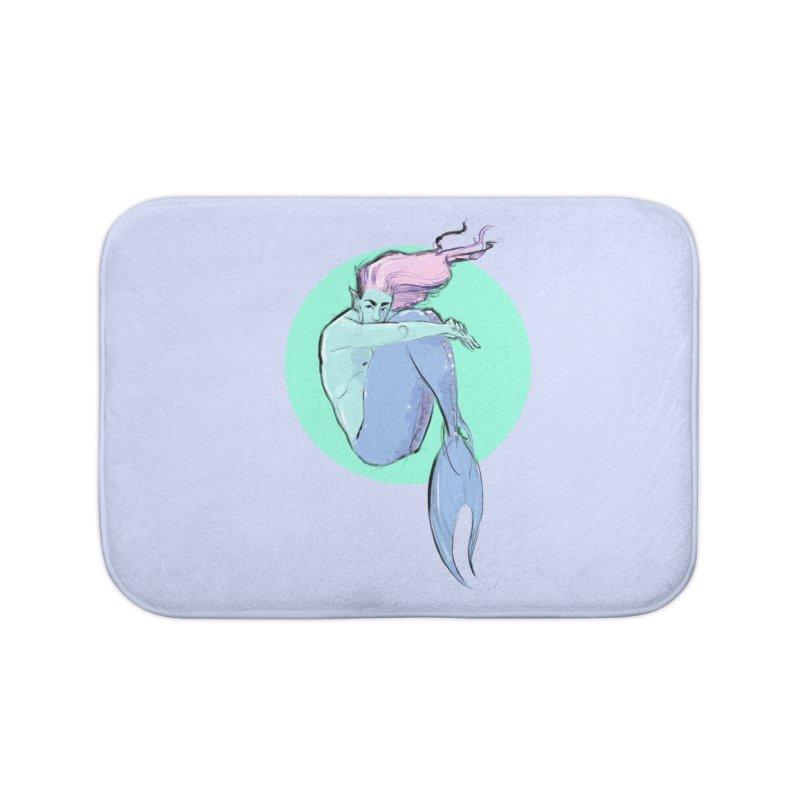 Bubble Home Bath Mat by Ego Rodriguez
