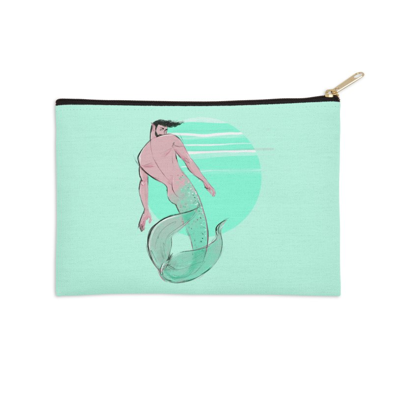 Coral Accessories Zip Pouch by Ego Rodriguez