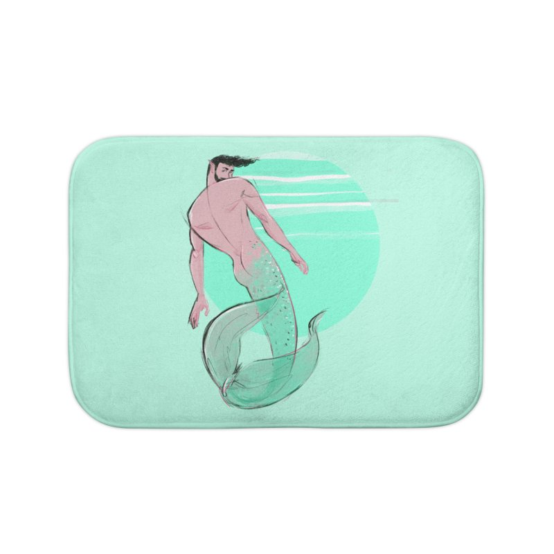 Coral Home Bath Mat by Ego Rodriguez