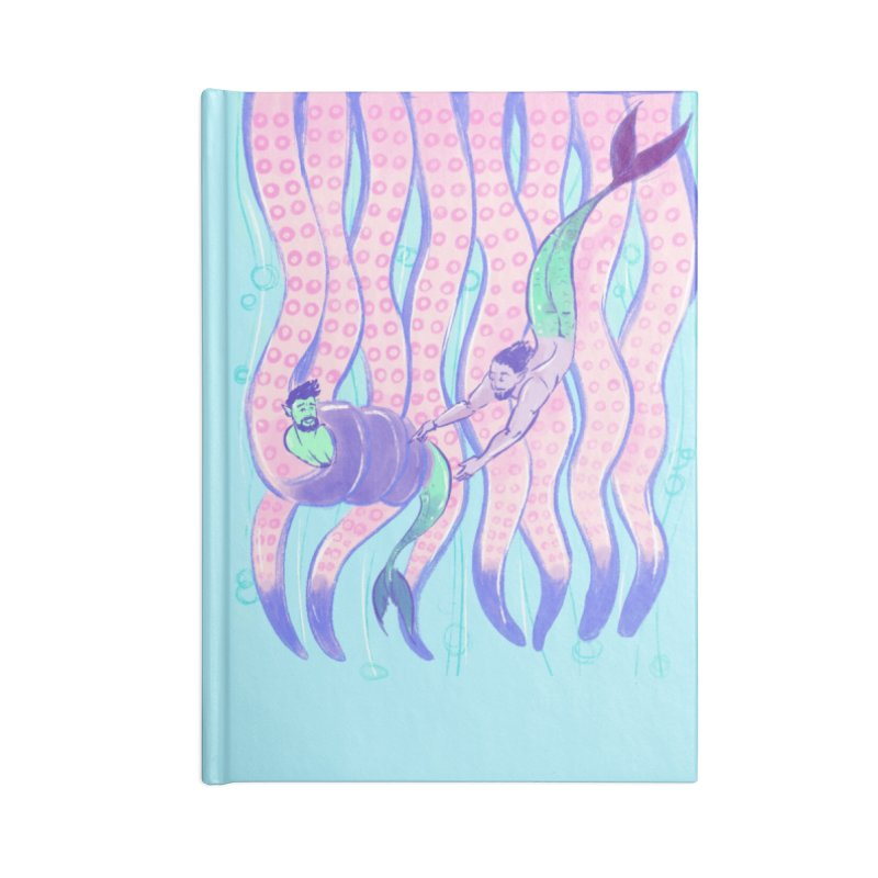 Tentacles Accessories Notebook by Ego Rodriguez