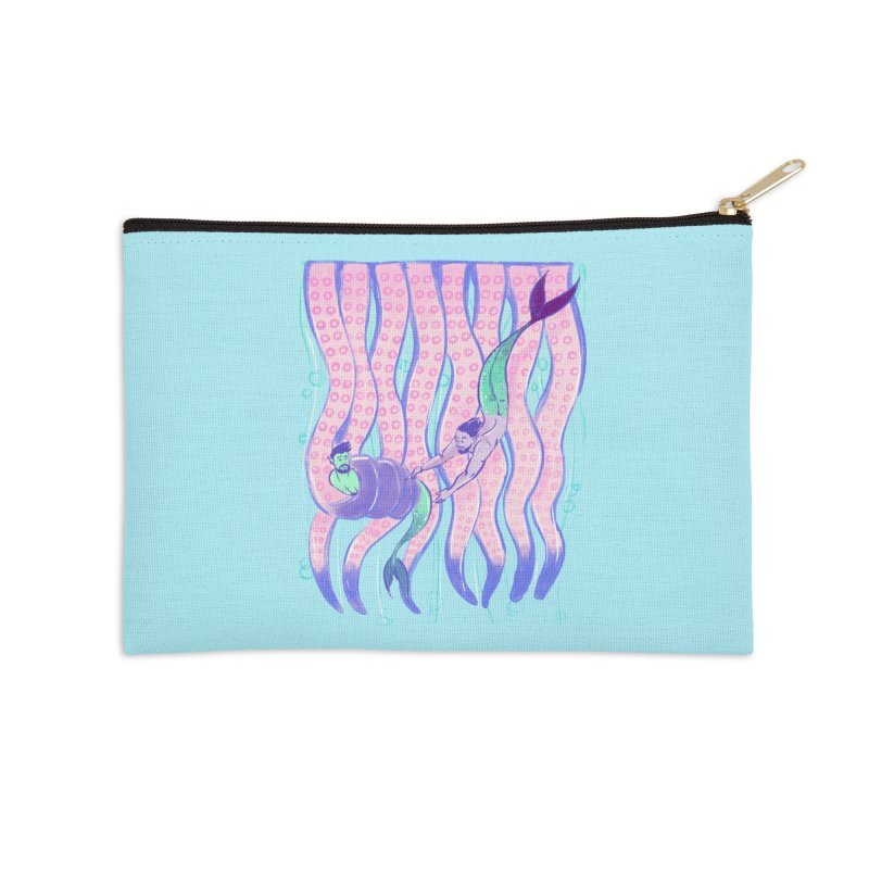 Tentacles Accessories Zip Pouch by Ego Rodriguez