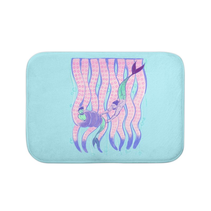Tentacles Home Bath Mat by Ego Rodriguez
