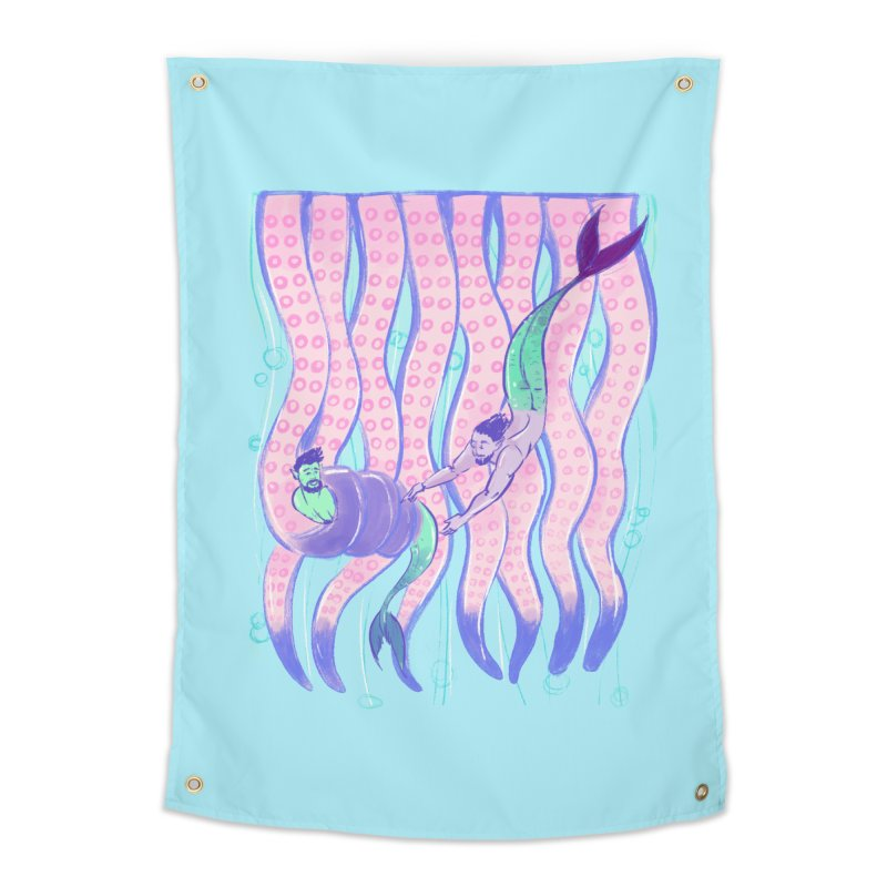 Tentacles Home Tapestry by Ego Rodriguez