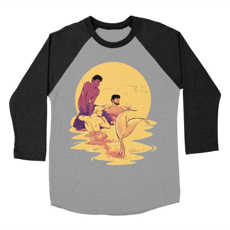 Waiting Women's Baseball Triblend T-Shirt by Ego Rodriguez