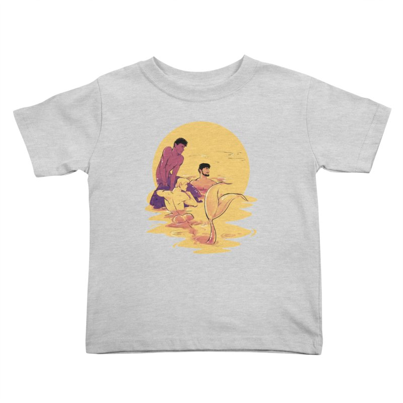 Waiting Kids Toddler T-Shirt by Ego Rodriguez
