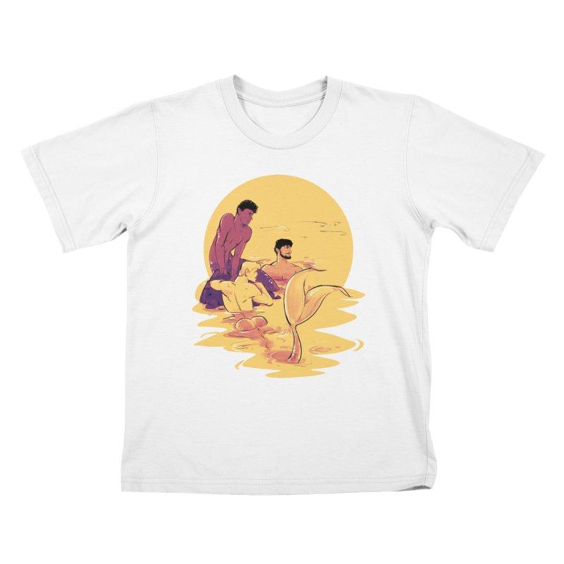 Waiting Kids T-Shirt by Ego Rodriguez