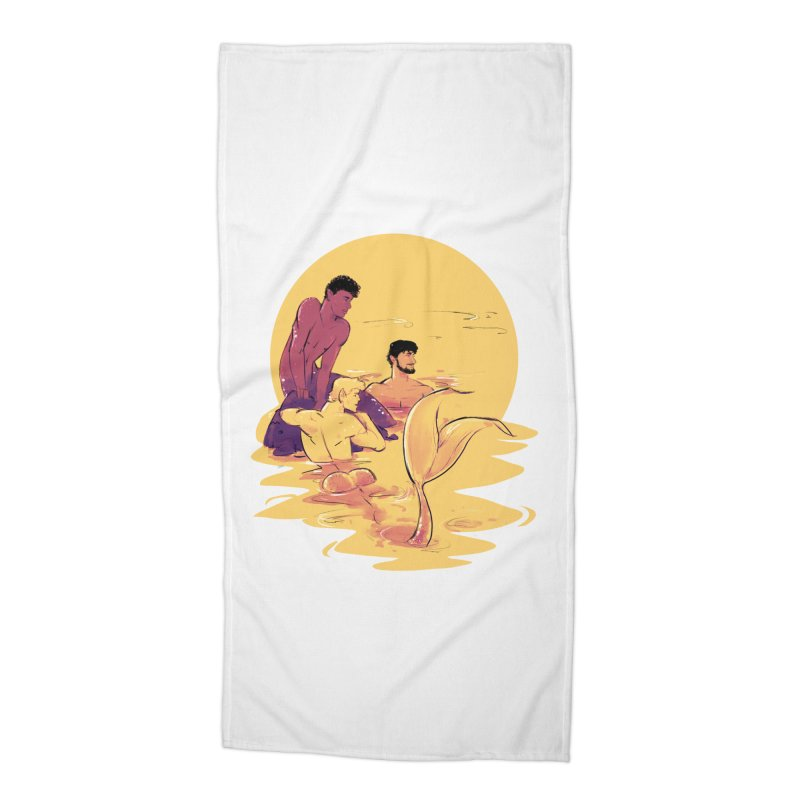 Waiting Accessories Beach Towel by Ego Rodriguez