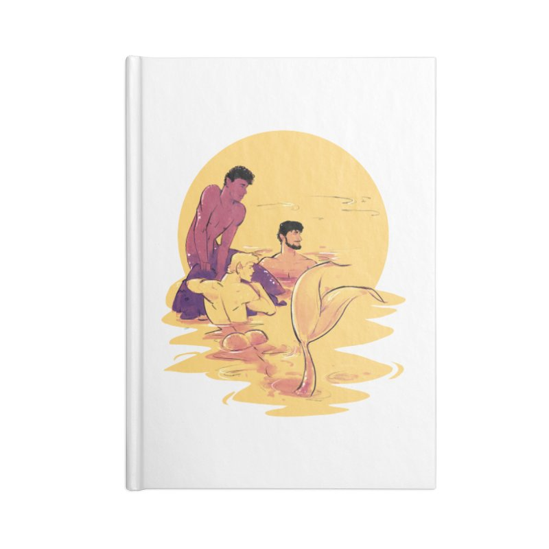 Waiting Accessories Notebook by Ego Rodriguez