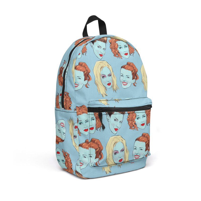 Impossible Princess Accessories Backpack Bag by Ego Rodriguez