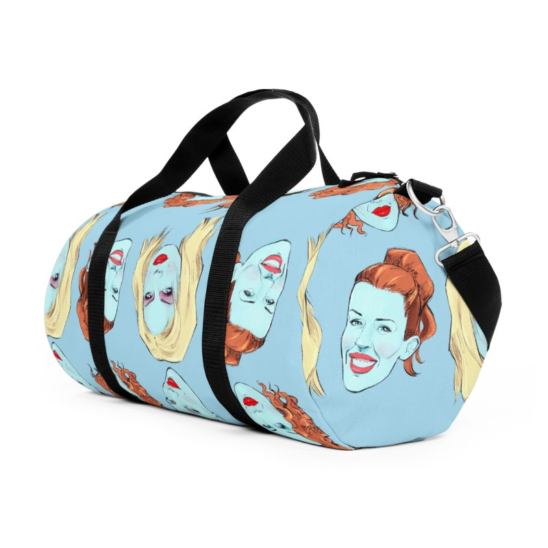Impossible Princess Accessories Duffel Bag Bag by Ego Rodriguez