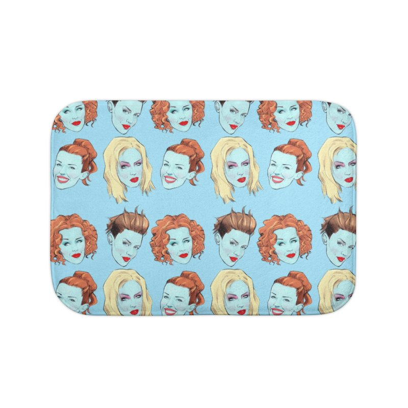 Impossible Princess Home Bath Mat by Ego Rodriguez