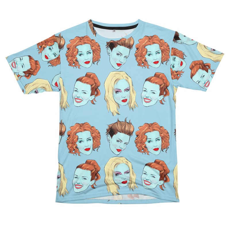 Impossible Princess Men's T-Shirt Cut & Sew by Ego Rodriguez