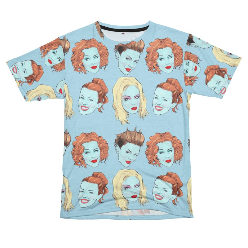 Impossible Princess Women's Unisex French Terry T-Shirt Cut & Sew by Ego Rodriguez