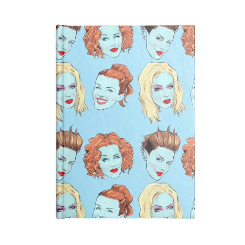 Impossible Princess Accessories Notebook by Ego Rodriguez