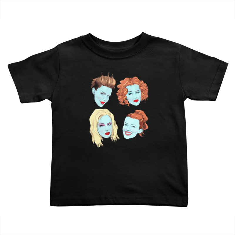 Impossible Princess Kids Toddler T-Shirt by Ego Rodriguez