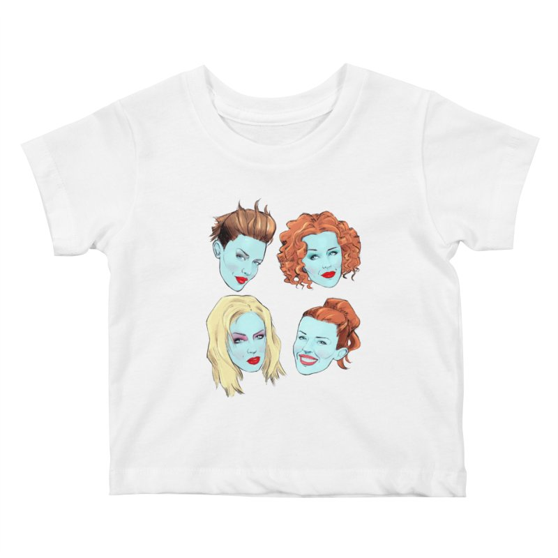 Impossible Princess Kids Baby T-Shirt by Ego Rodriguez