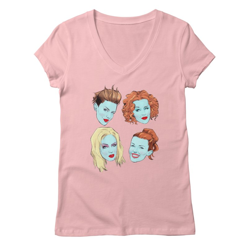 Impossible Princess Women's V-Neck by Ego Rodriguez