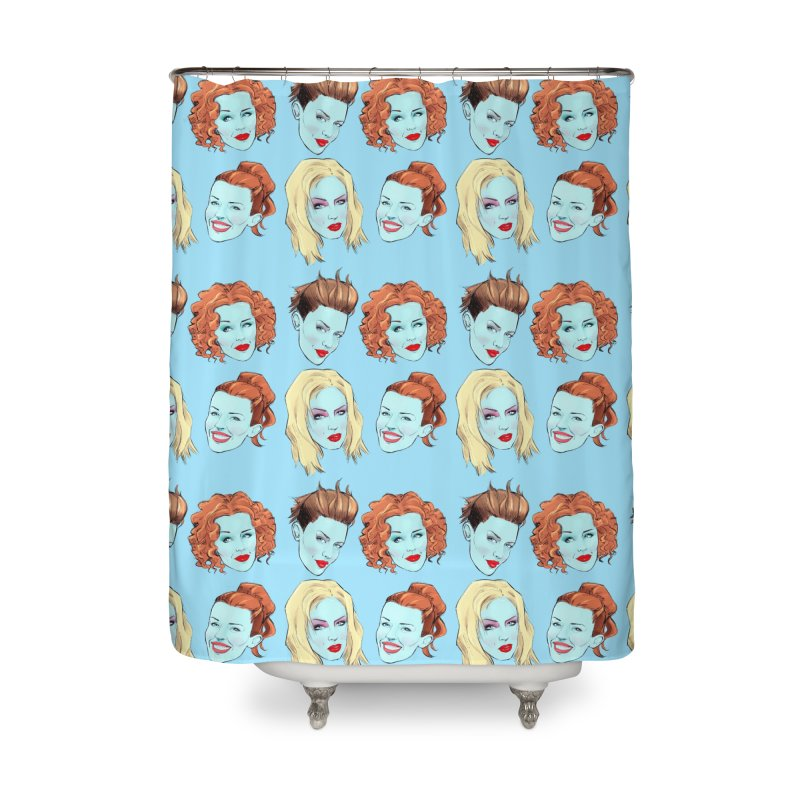 Impossible Princess Home Shower Curtain by Ego Rodriguez