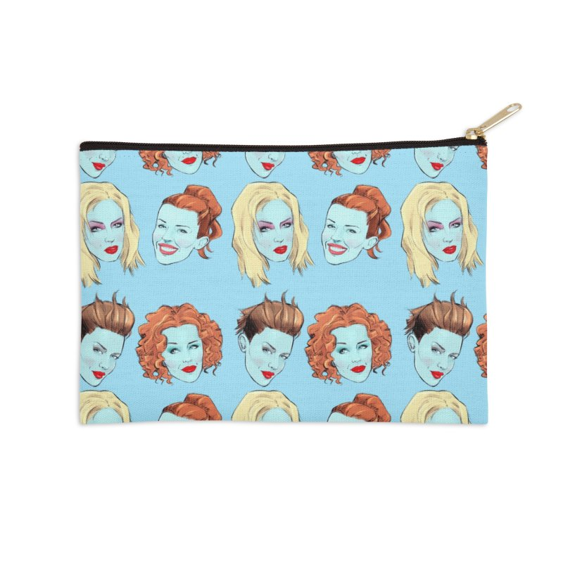 Impossible Princess Accessories Zip Pouch by Ego Rodriguez