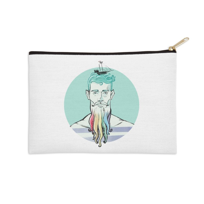 PRIDE Neptune Accessories Zip Pouch by Ego Rodriguez