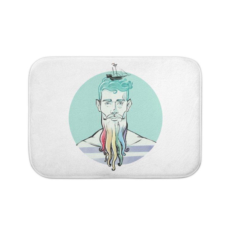 PRIDE Neptune Home Bath Mat by Ego Rodriguez