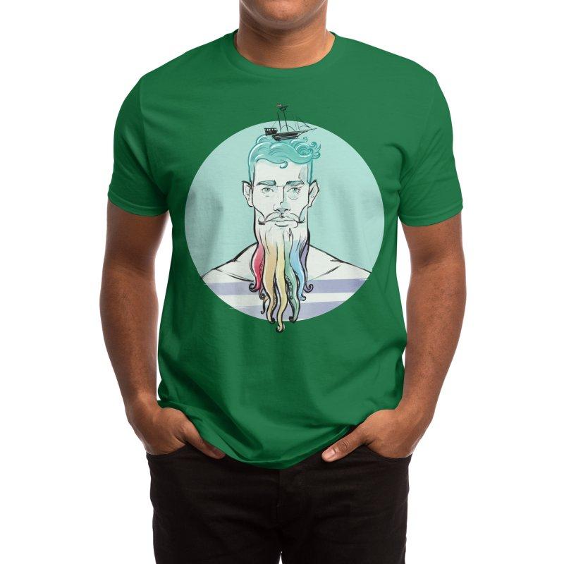 PRIDE Neptune Men's T-Shirt by Ego Rodriguez