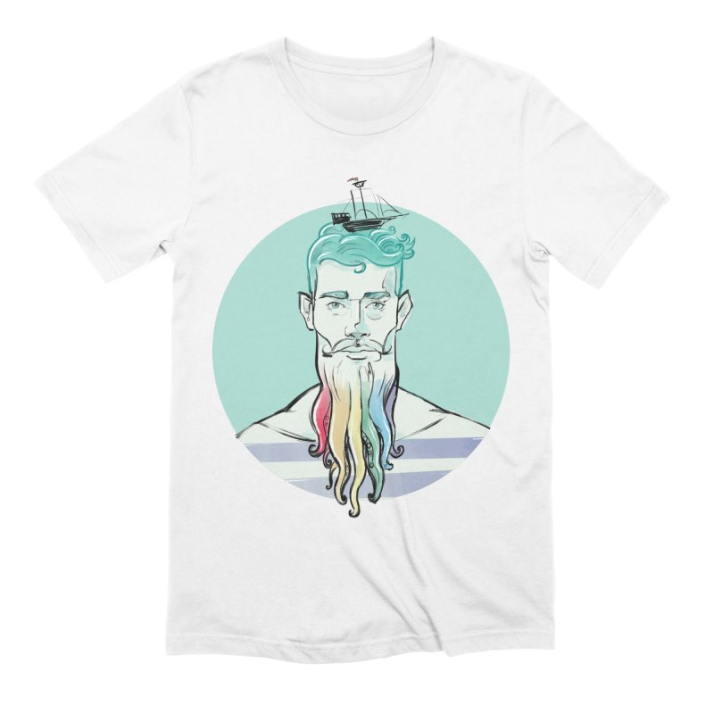 PRIDE Neptune Men's T-Shirt by Ego Rodriguez