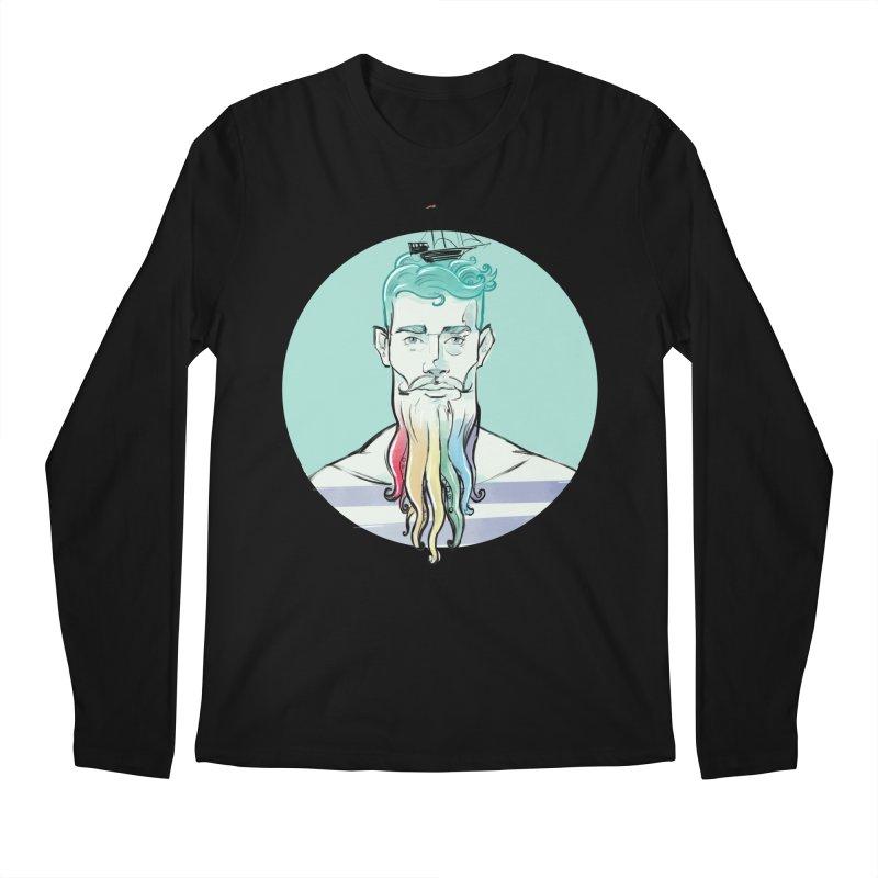 PRIDE Neptune Men's Longsleeve T-Shirt by Ego Rodriguez