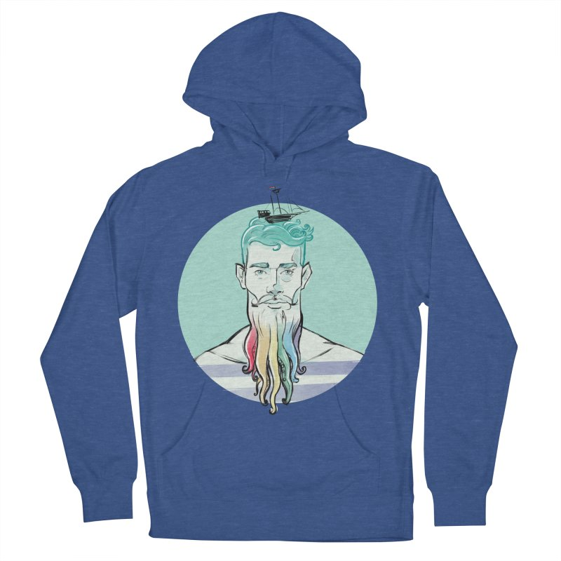 PRIDE Neptune Men's Pullover Hoody by Ego Rodriguez