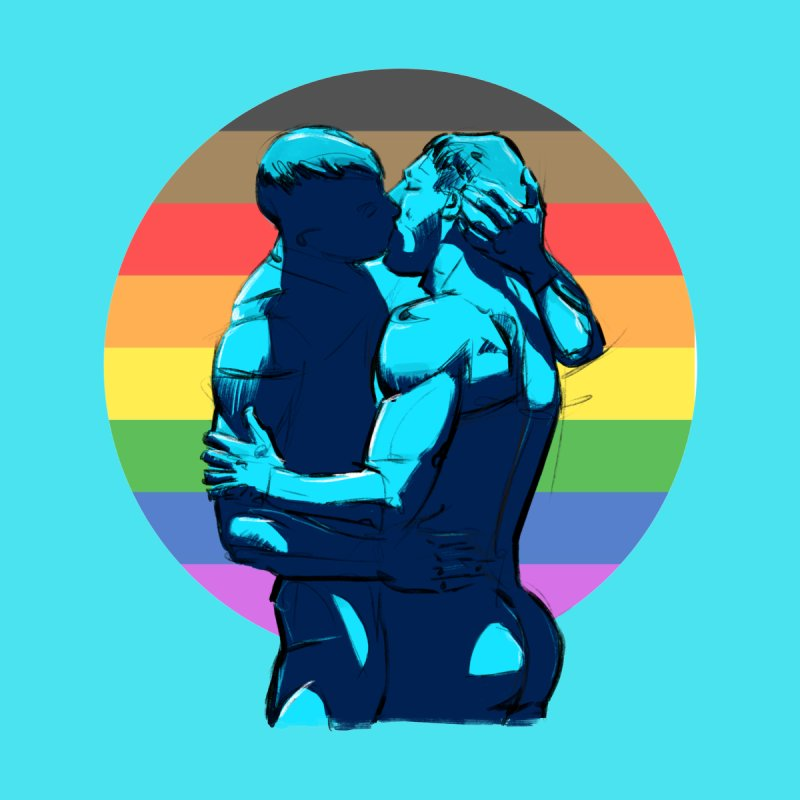 PRIDE Kiss Accessories Sticker by Ego Rodriguez