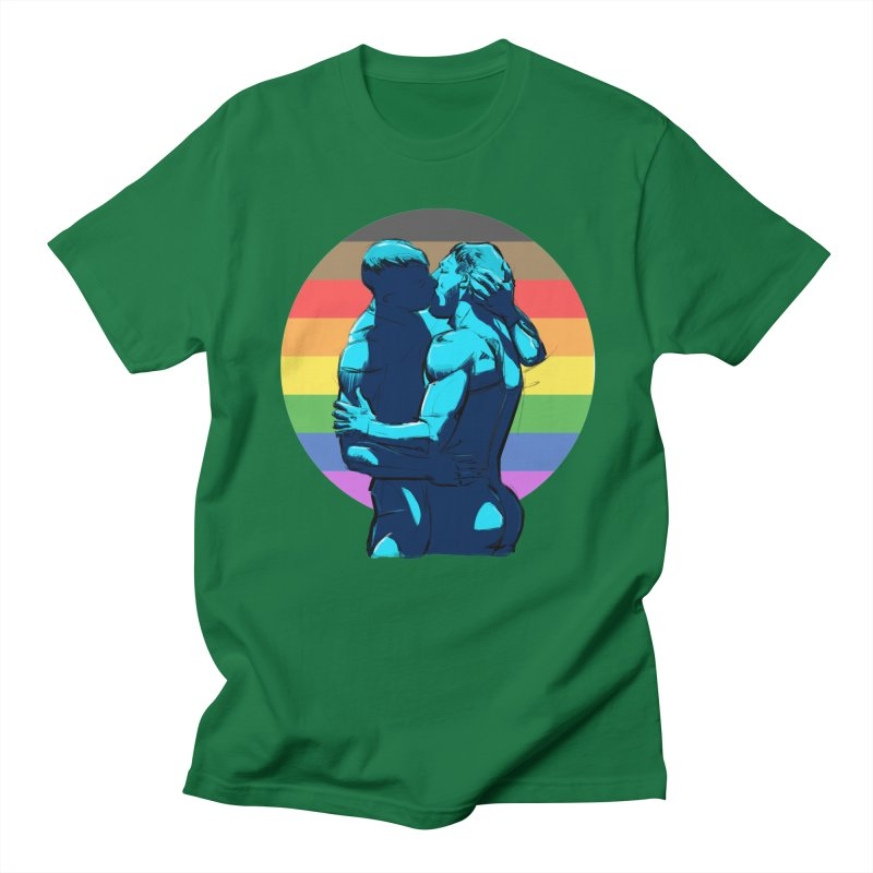 PRIDE Kiss Men's T-Shirt by Ego Rodriguez