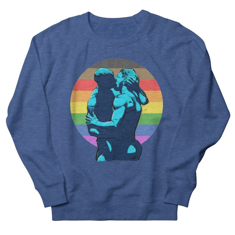 PRIDE Kiss Men's Sweatshirt by Ego Rodriguez
