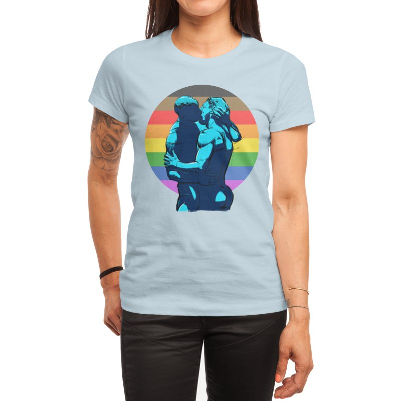 PRIDE Kiss Women's T-Shirt by Ego Rodriguez