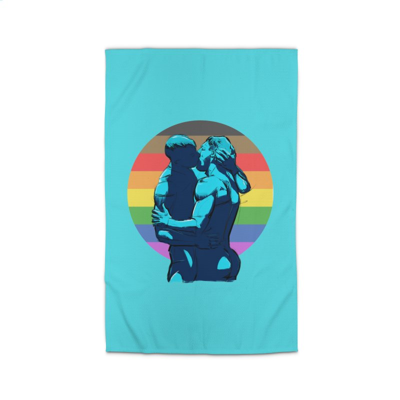 PRIDE Kiss Home Rug by Ego Rodriguez