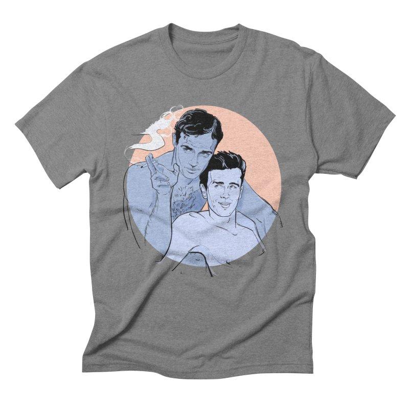 Brando & Dean Men's T-Shirt by Ego Rodriguez