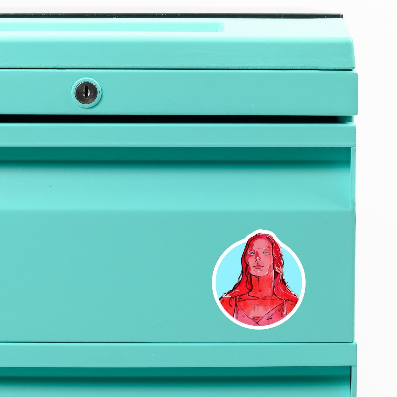 Carrie Accessories Magnet by Ego Rodriguez