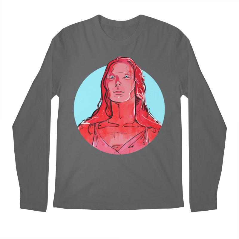 Carrie Men's Longsleeve T-Shirt by Ego Rodriguez
