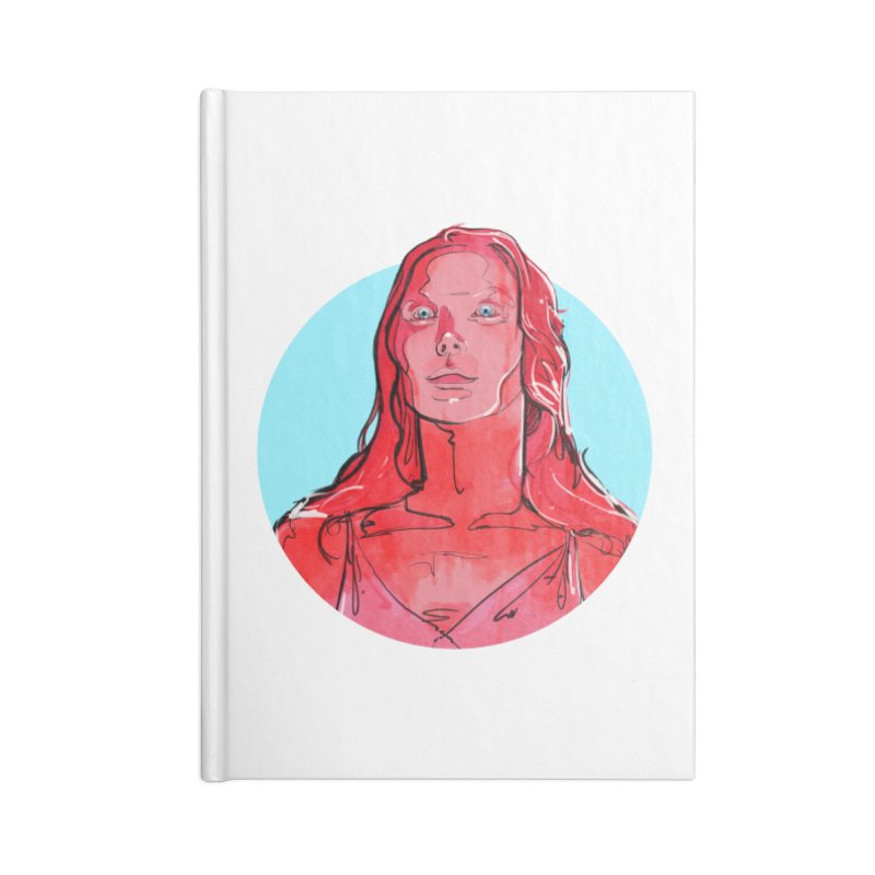 Carrie Accessories Notebook by Ego Rodriguez