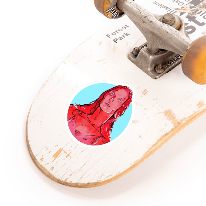 Carrie Accessories Sticker by Ego Rodriguez