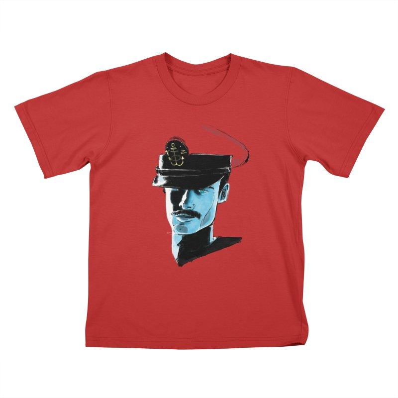 Captain Kids T-Shirt by Ego Rodriguez