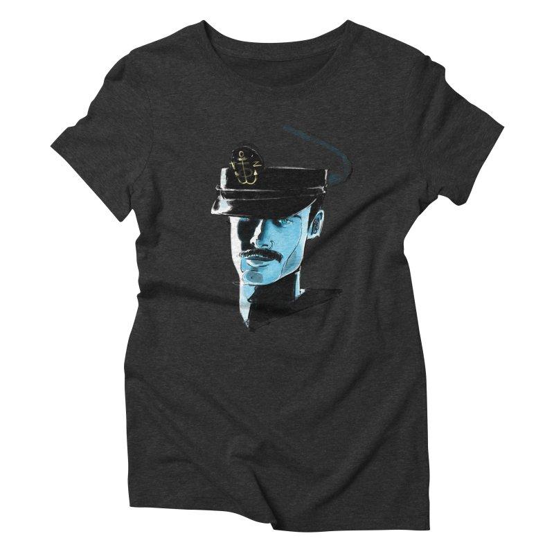 Captain Women's Triblend T-Shirt by Ego Rodriguez