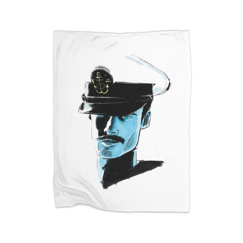 Captain Home Blanket by Ego Rodriguez