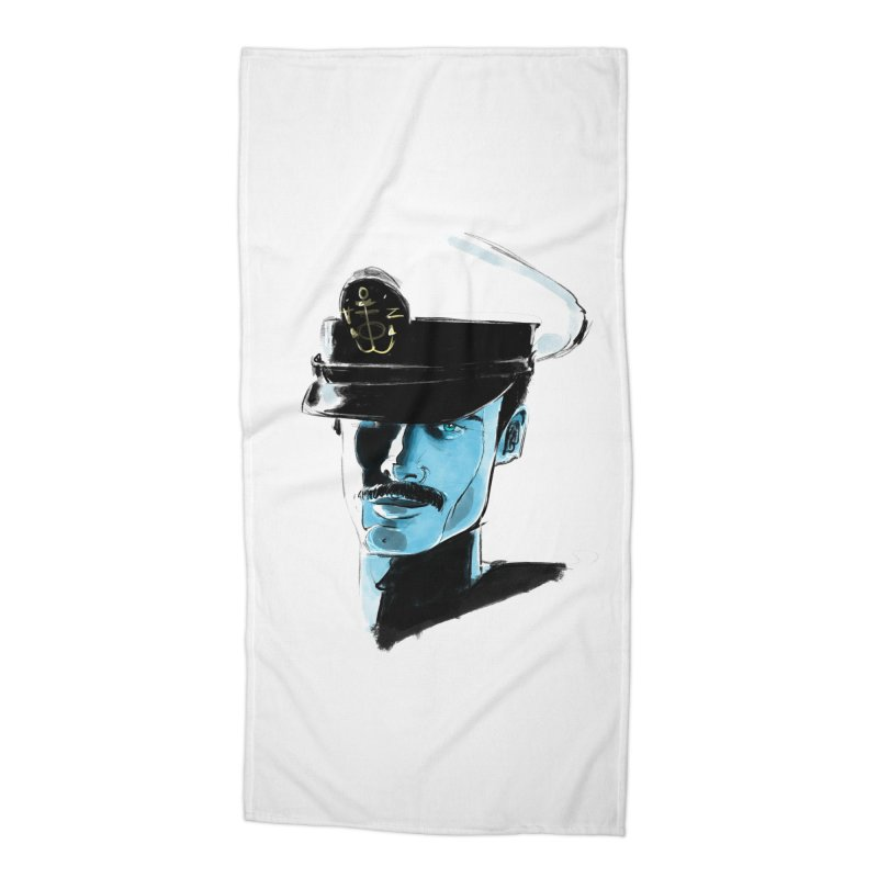 Captain Accessories Beach Towel by Ego Rodriguez