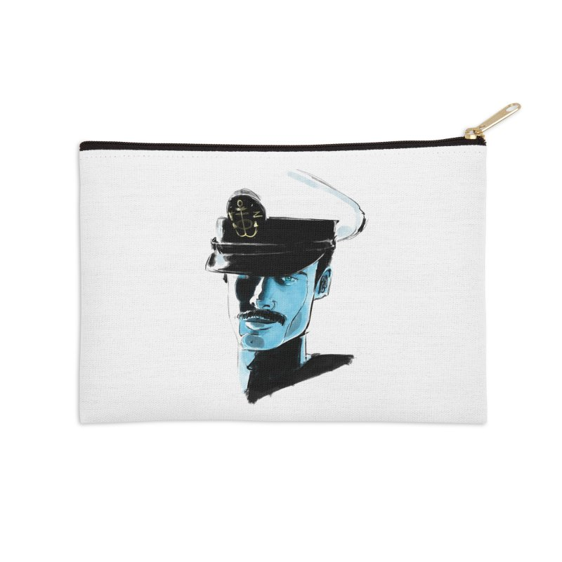 Captain Accessories Zip Pouch by Ego Rodriguez